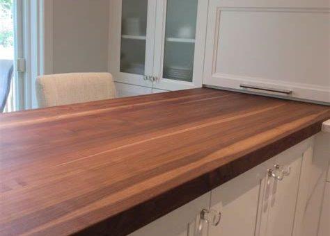 Comment huiler vos meubles et comptoirs en bois